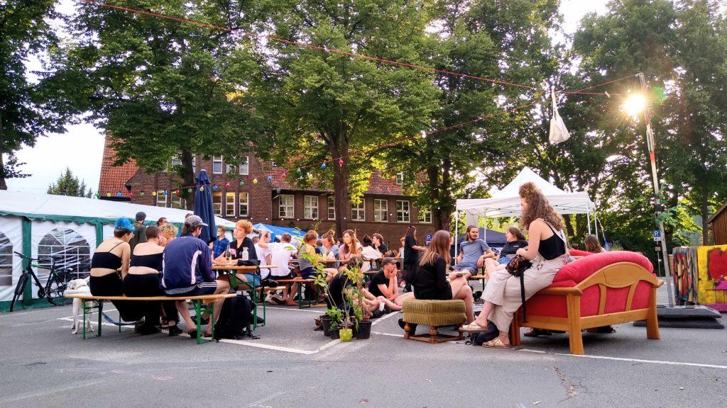 Klimacamp Lüneburg SoKü (Solidarische Küche)